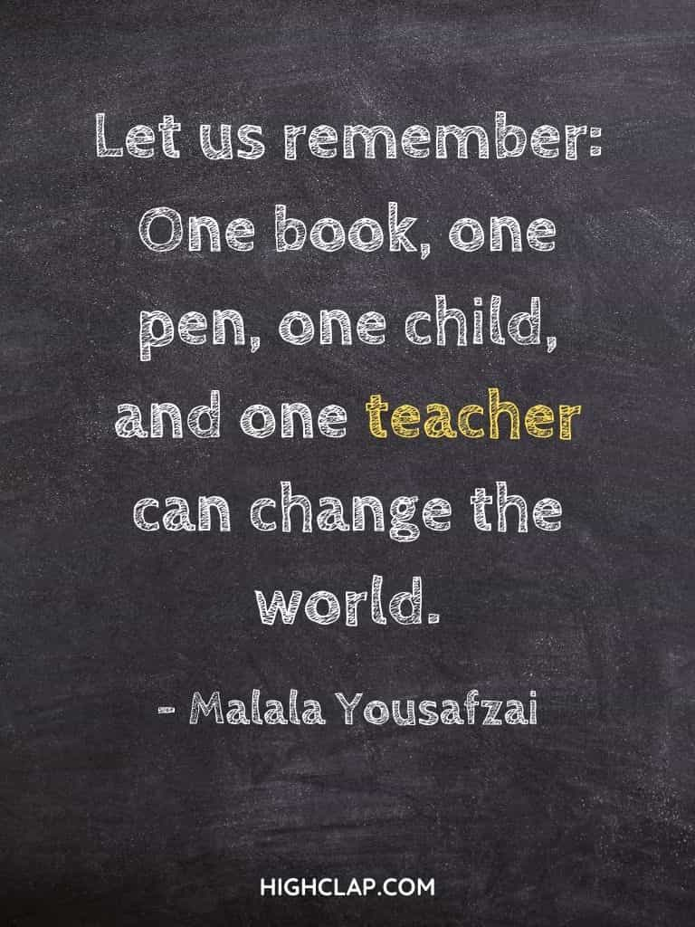 Inspirational Teachers Day Quotes