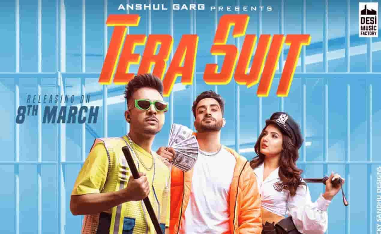 Tera Suit (तेरा सूट) Lyrics- Tony Kakkar