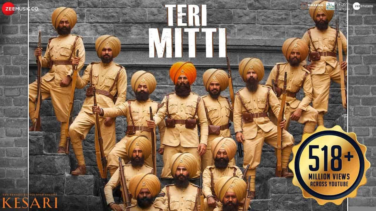 Teri Mitti Lyrics In English and Hindi