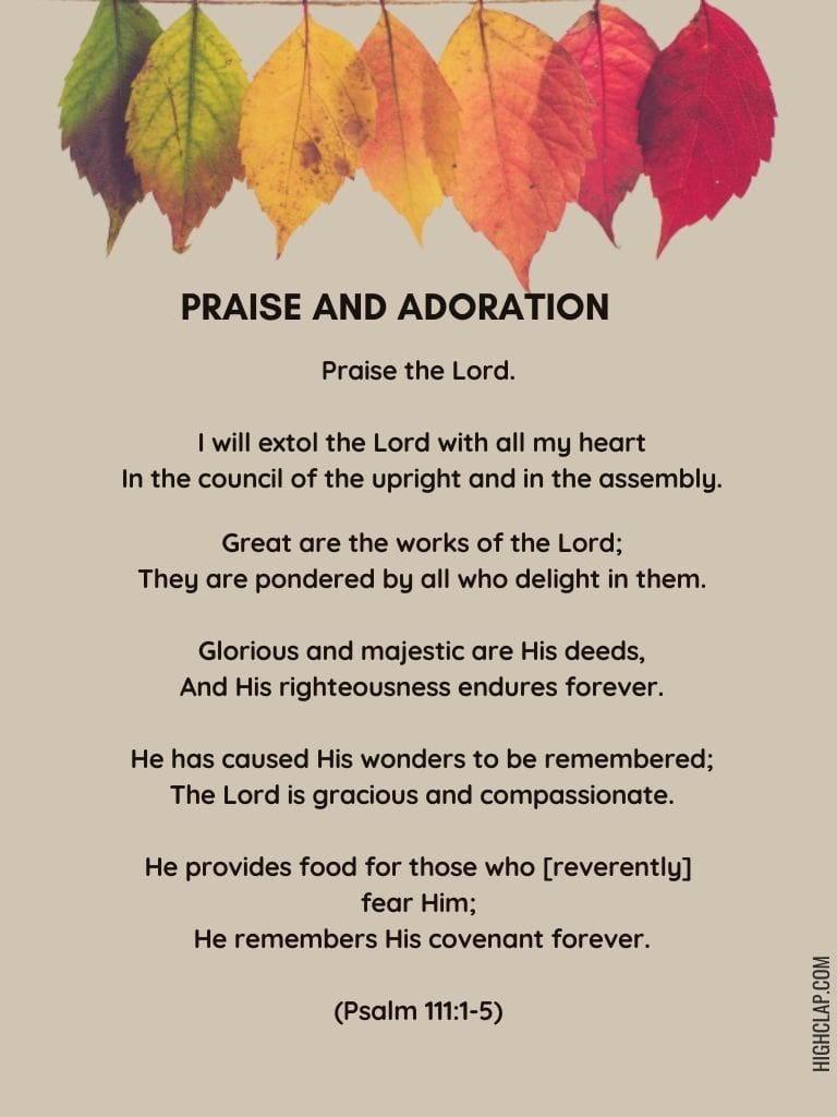 Best Psalms Of Thanksgiving | Prayers Of Thanksgiving In The Bible