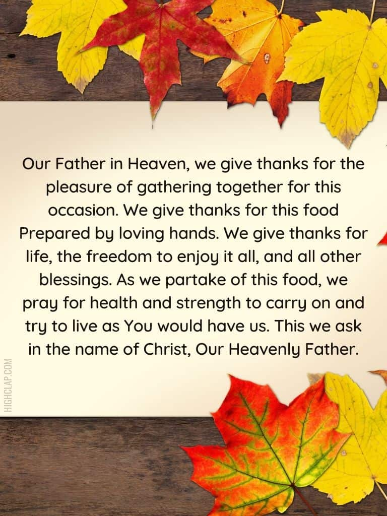 Short Prayers of Thanks And Gratitude