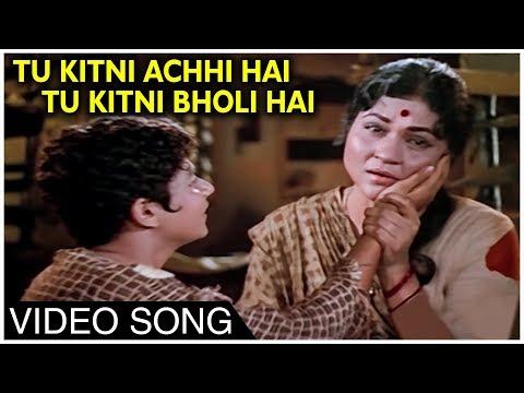 Tu Kitni Achhi Hai (तू कितनी अच्छी है) Lyrics- Raja Aur Runk | Lata Mangeshkar