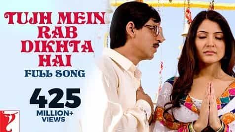 Tujh Mein Rab Dikhta Hai (तुझमें रब दिखता है) Lyrics- Rab Ne Bana Di Jodi | Roop Kumar Rathod