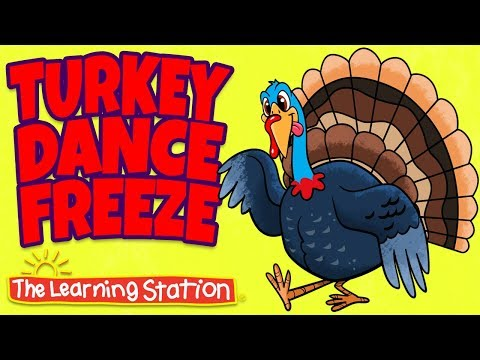 Turkey Dance Freeze Lyrics- A Bunch of Celebration Songs for Kids | The Learning Station