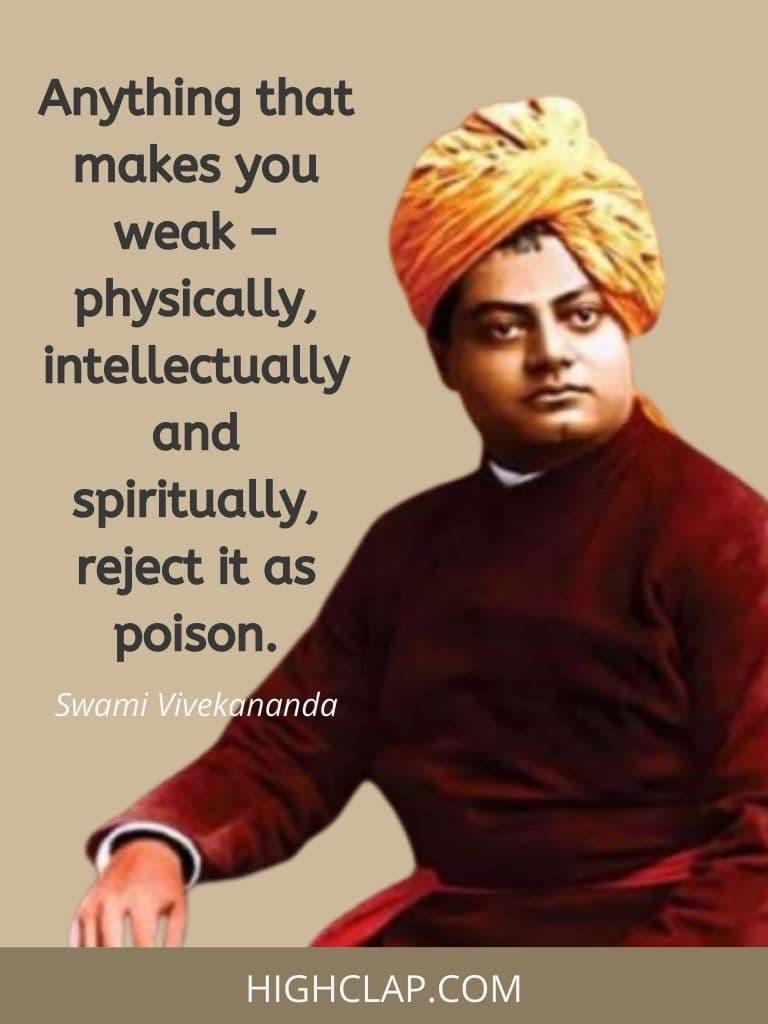 Inspiring Swami Vivekananda Quotes