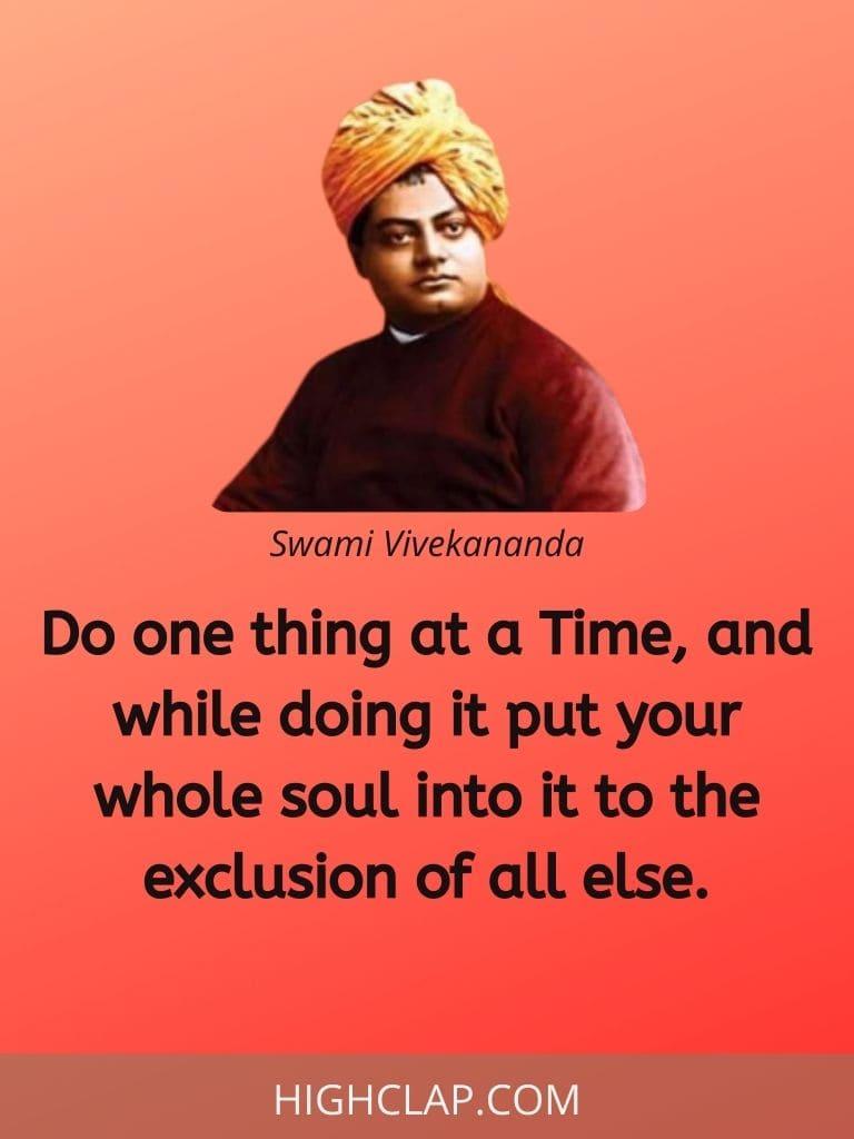 Swami Vivekananda Quotes On Success